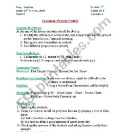 English worksheets: present perfect [ 1169 x 821 Pixel ]