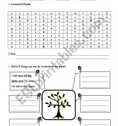 Earth Day - ESL worksheet by heyihua [ 1169 x 821 Pixel ]