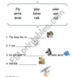 English worksheets: action words [ 1169 x 821 Pixel ]