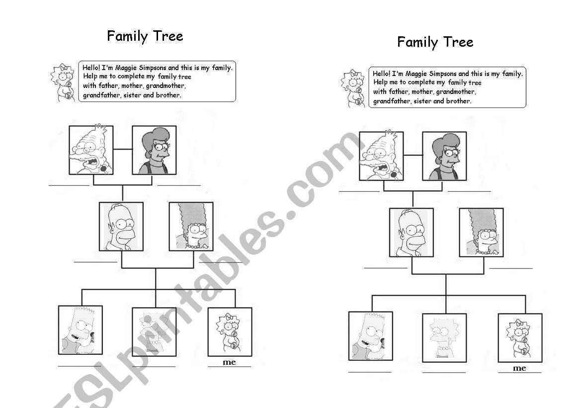 Family Tree Simpsons