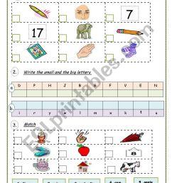 English Test / Vocabulary Revision - 4th grade - ESL worksheet by  Victoria-Ladybug [ 1169 x 821 Pixel ]