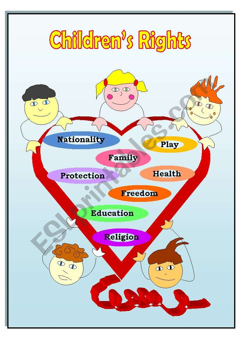 Children S Rights Poster