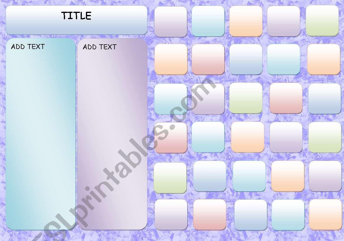 English Worksheets Template Worksheet Template 1