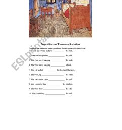 French Prepositions Of Location Worksheet   Printable Worksheets and  Activities for Teachers [ 1641 x 1157 Pixel ]
