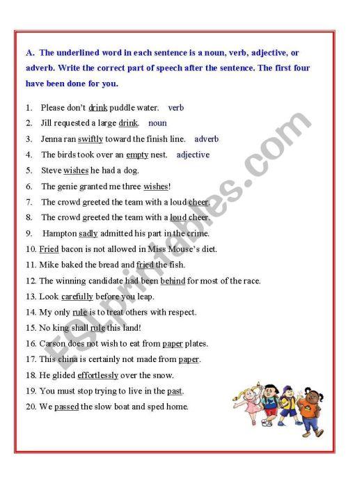 small resolution of Nouns - ESL worksheet by sharmkish