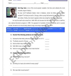 Assessement Paper-9th Grade - ESL worksheet by GRUPO [ 1169 x 821 Pixel ]