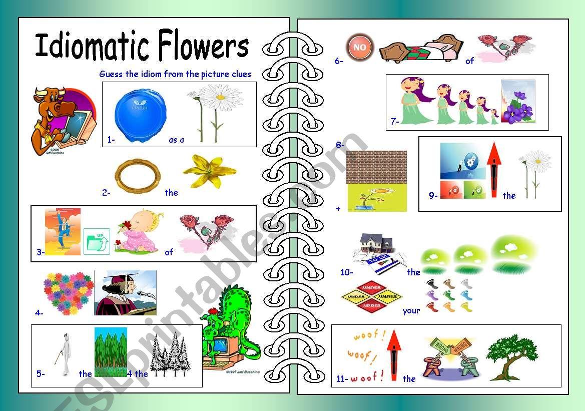 Idiomatic Flowers