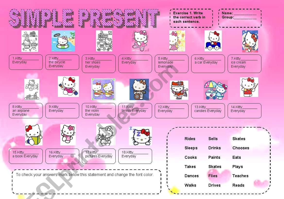 Simple Present Third Person