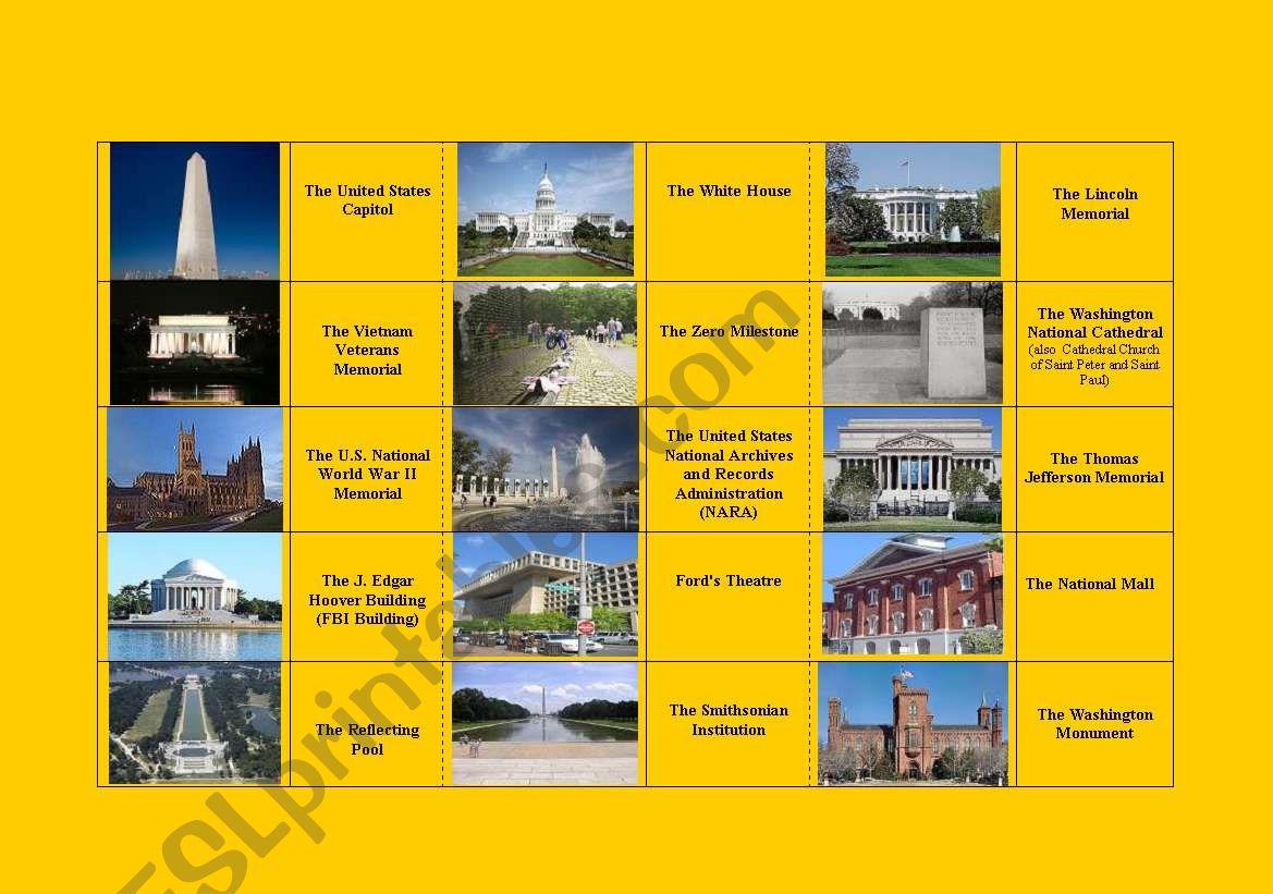 Washington Dc Domino Description Picture Fully