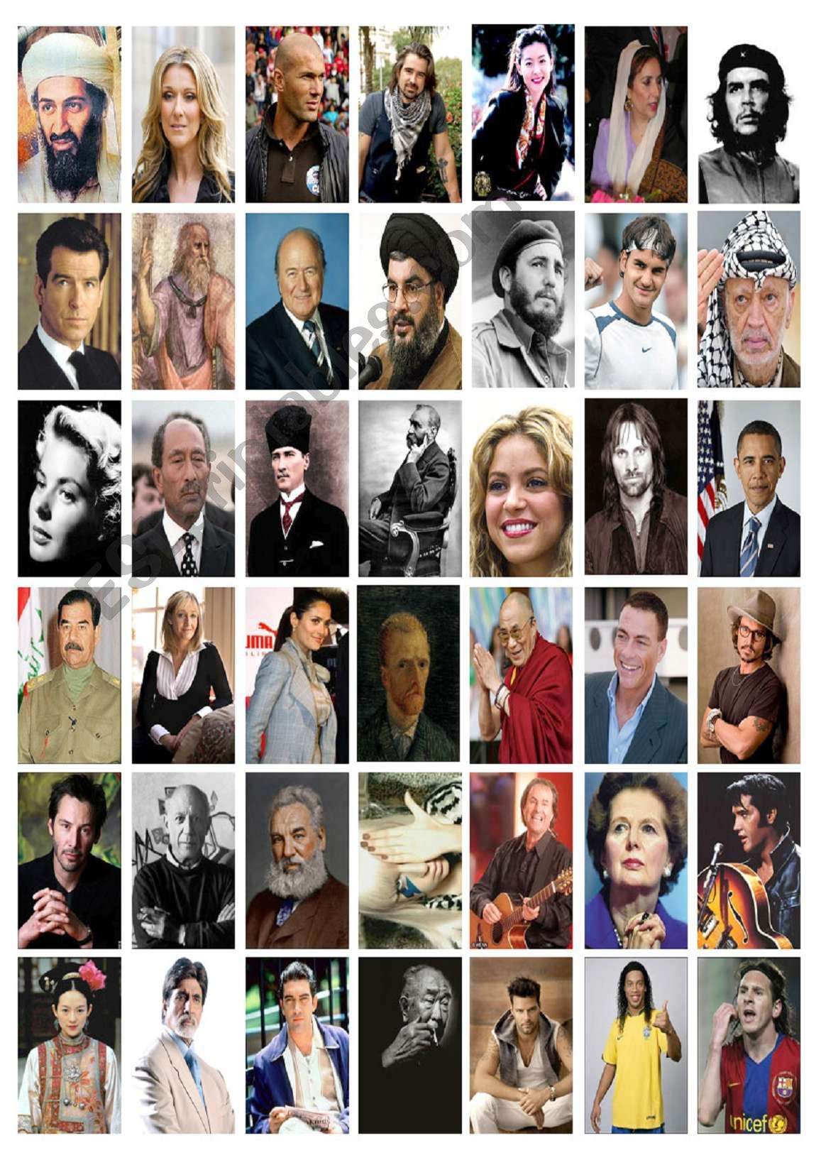 Countries Amp Nationalities Famous People 2