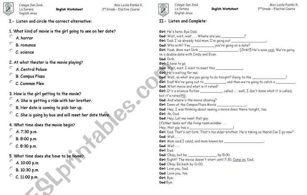 medium resolution of Cartoon Dialogue Worksheets   Printable Worksheets and Activities for  Teachers