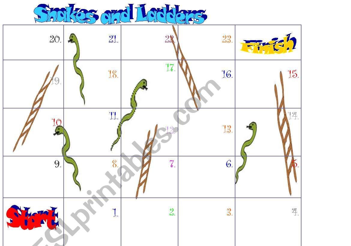 Free Snake Worksheet