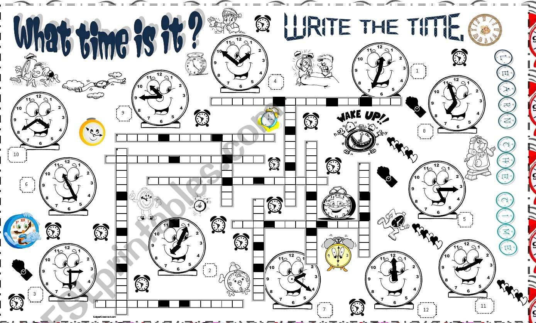 Time Crossword