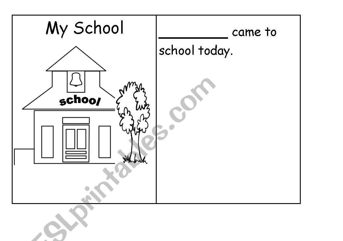 My School Booklet