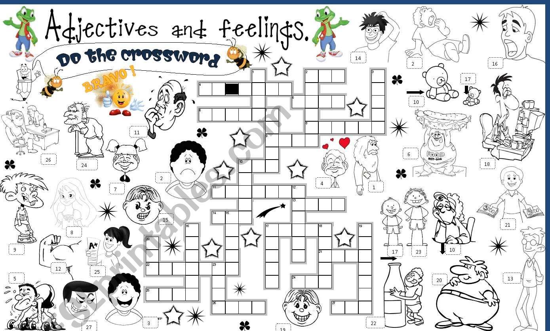 Adjectives And Feelings