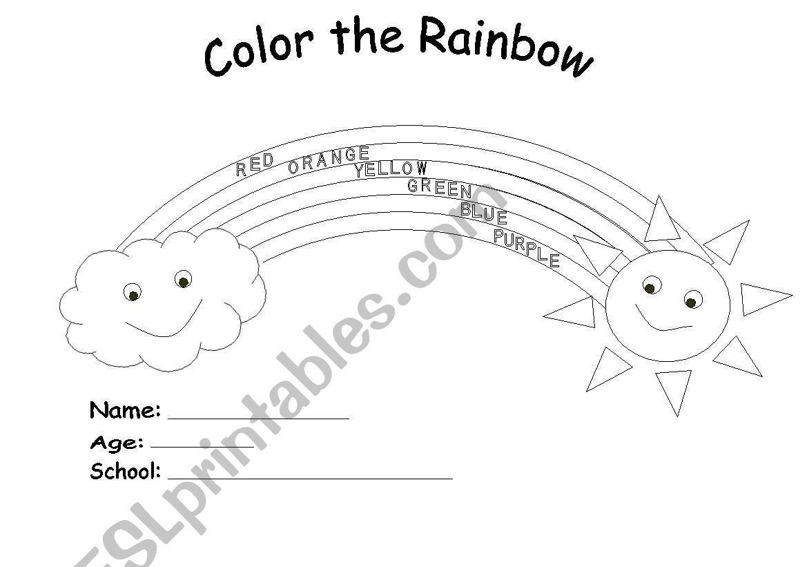 Colour The Rainbow