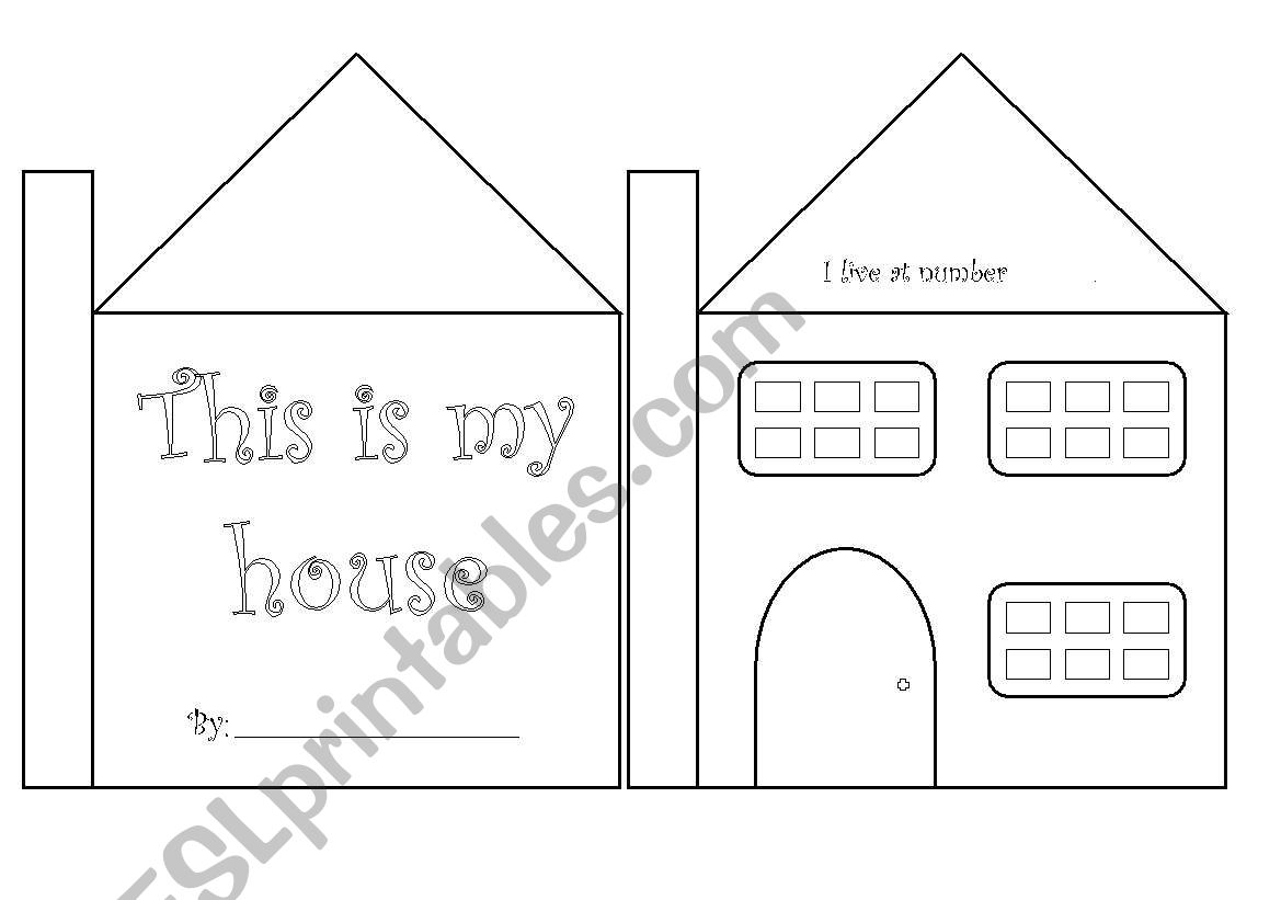 My House Mini Book