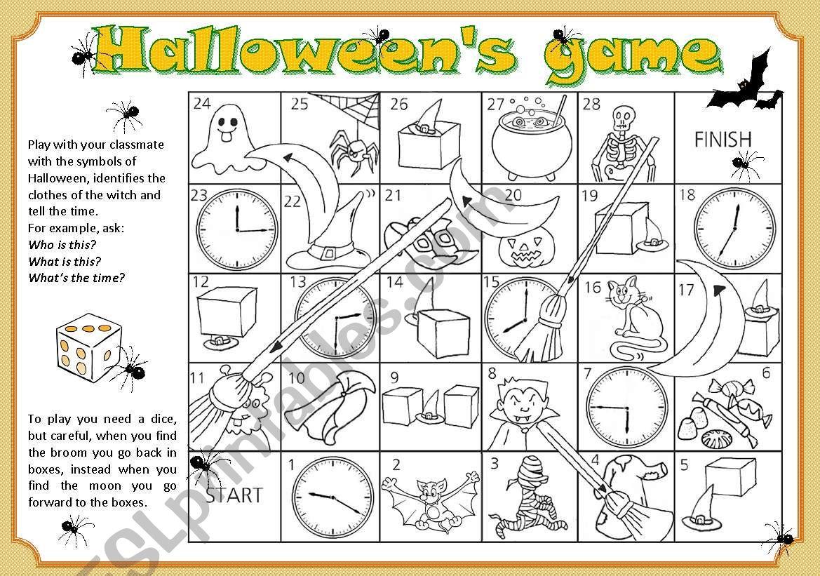 Halloween S Game
