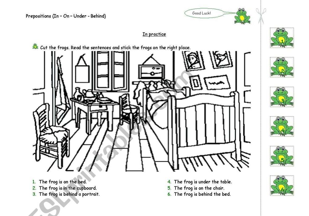 medium resolution of Prepositions Worksheet Notes   Printable Worksheets and Activities for  Teachers
