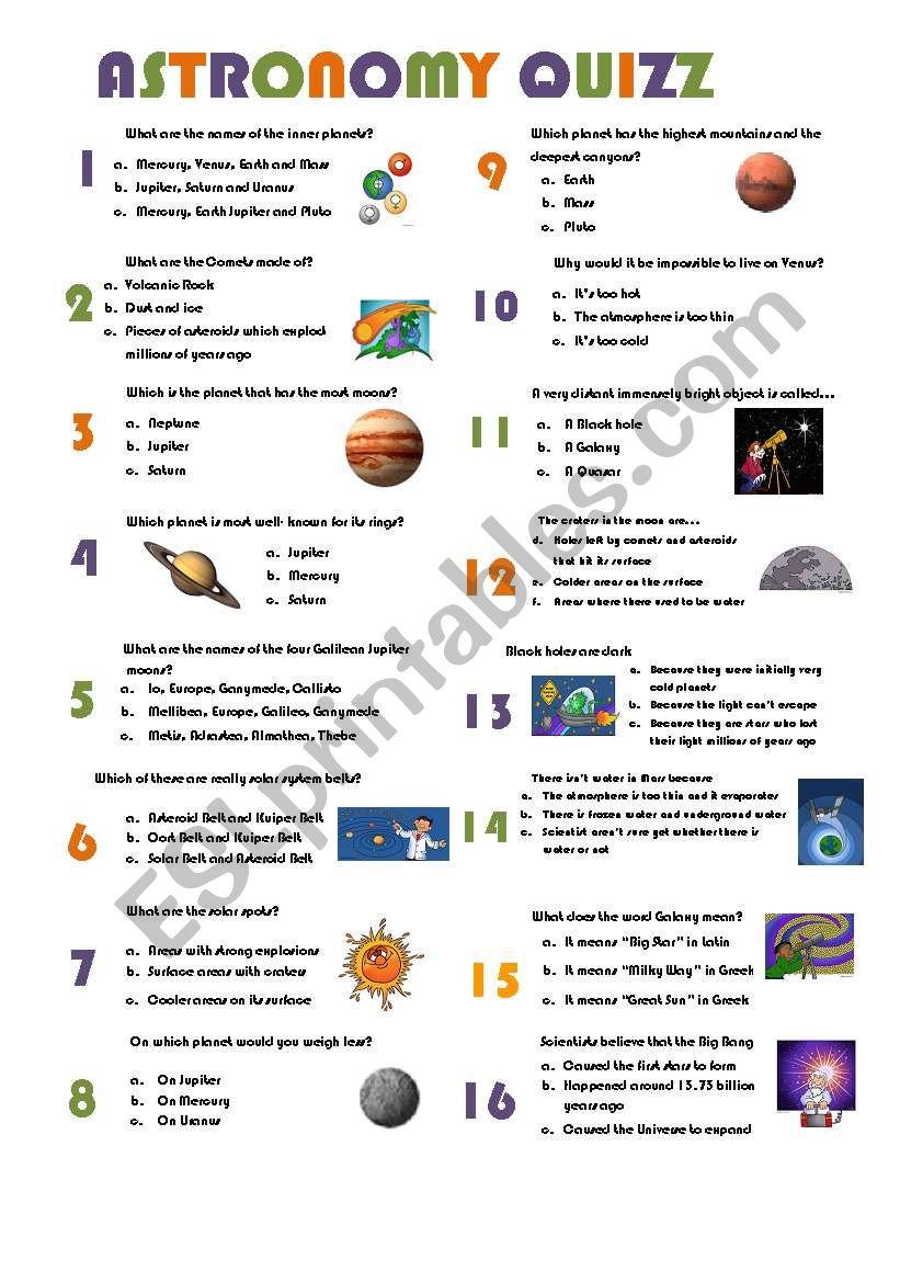 medium resolution of Astronomy Worksheets - Carinewbi