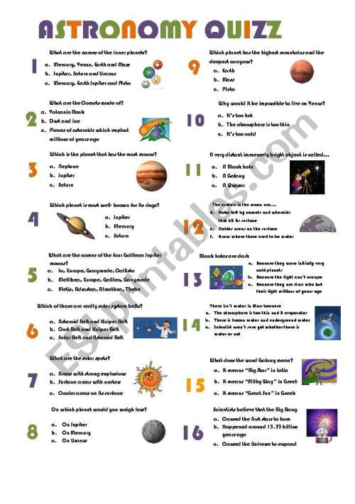 small resolution of Astronomy Worksheets - Carinewbi