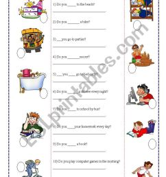 yes/no questions 2/1 - ESL worksheet by noemialejandra [ 1169 x 821 Pixel ]