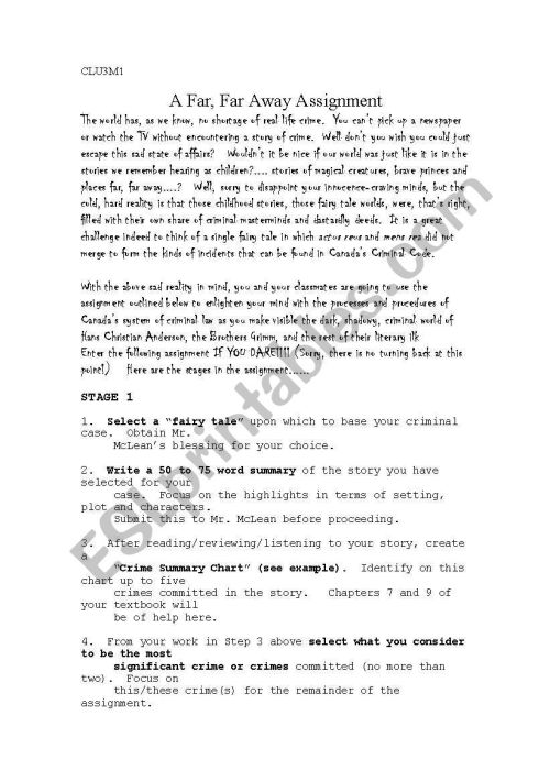 small resolution of fairy tale crime worksheet