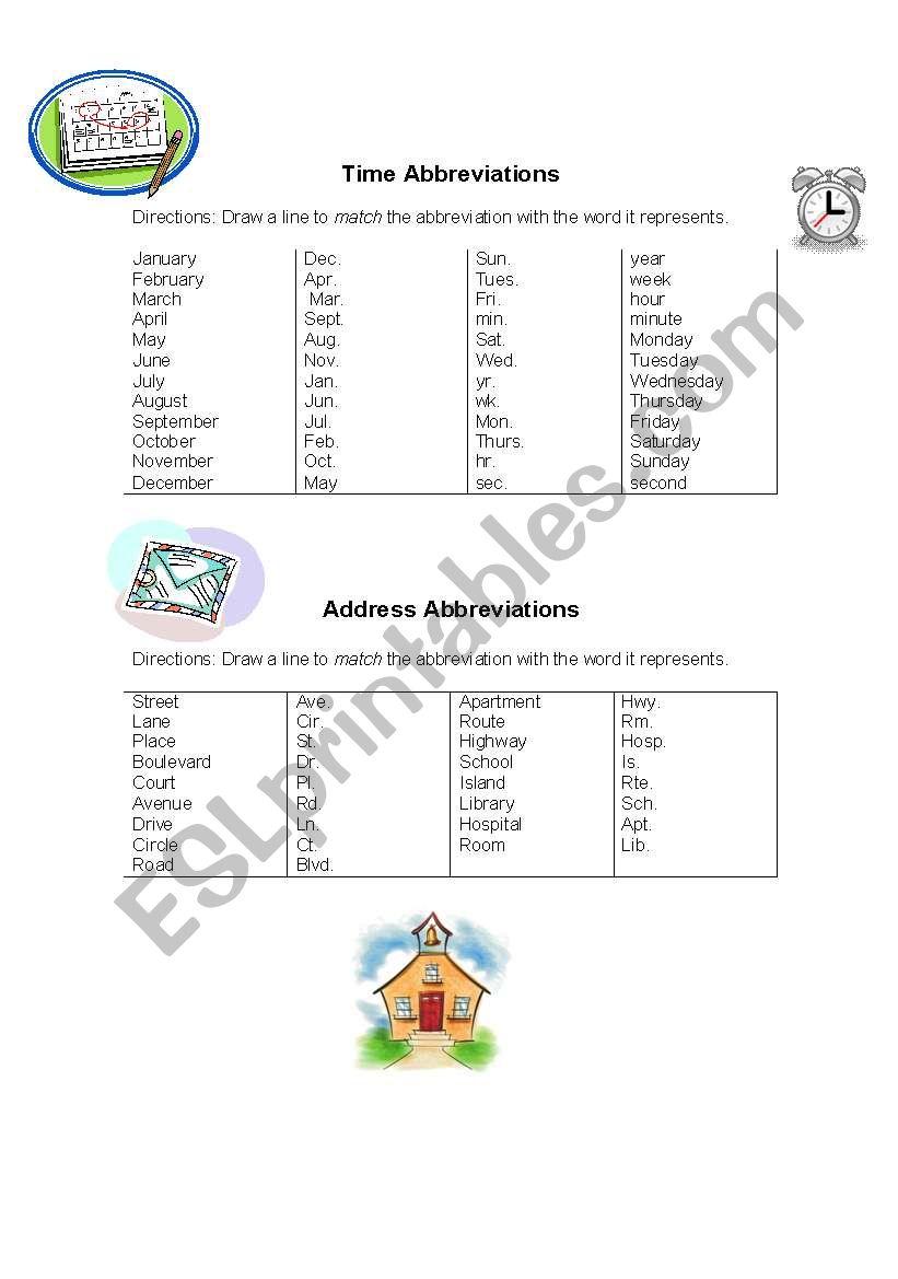 Matching Abbreviations