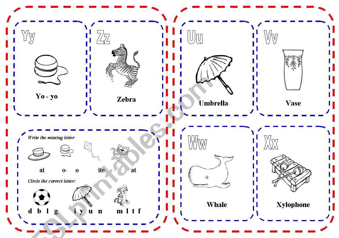 S Mini Book Worksheet
