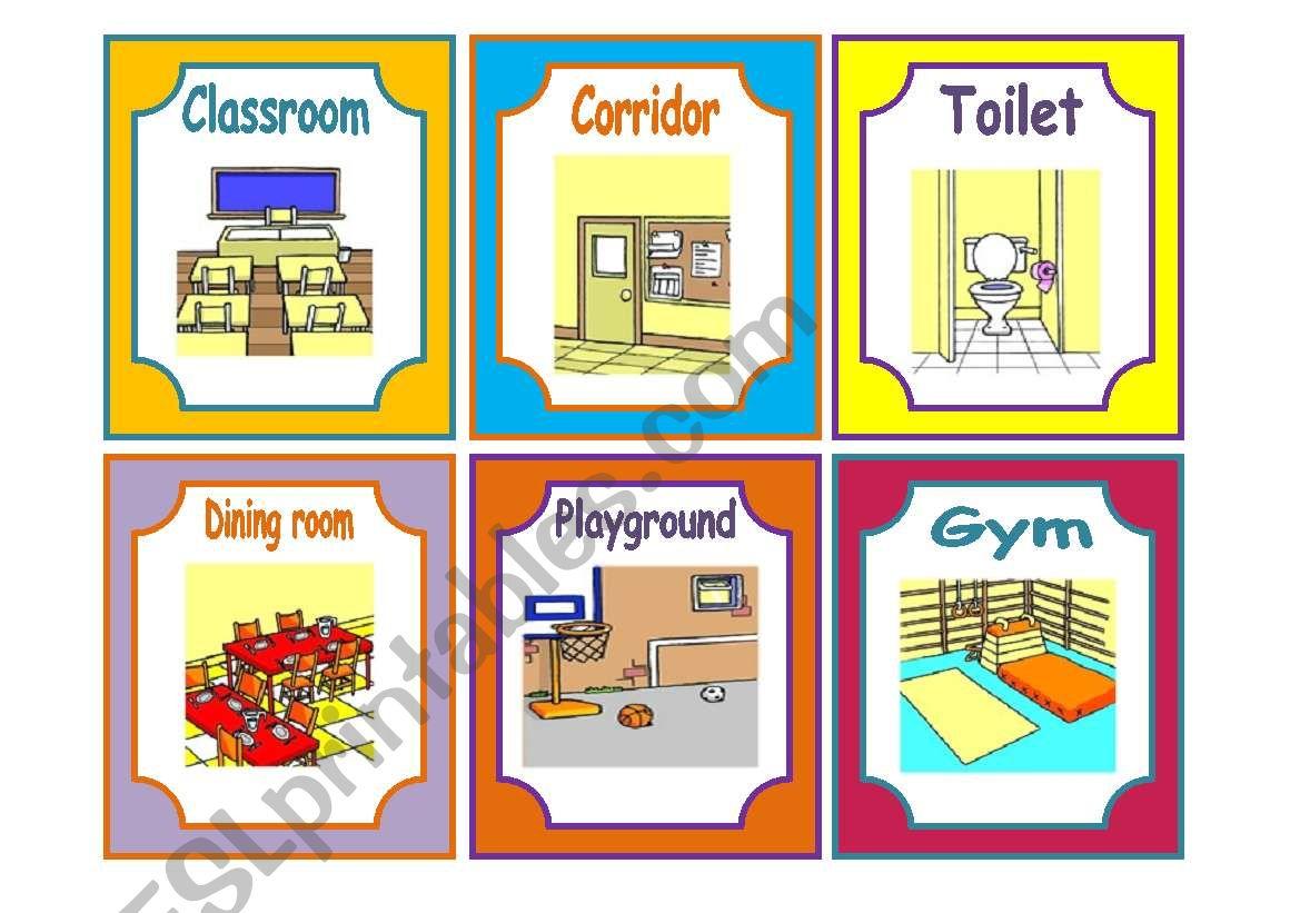 Facilities And Materials At School