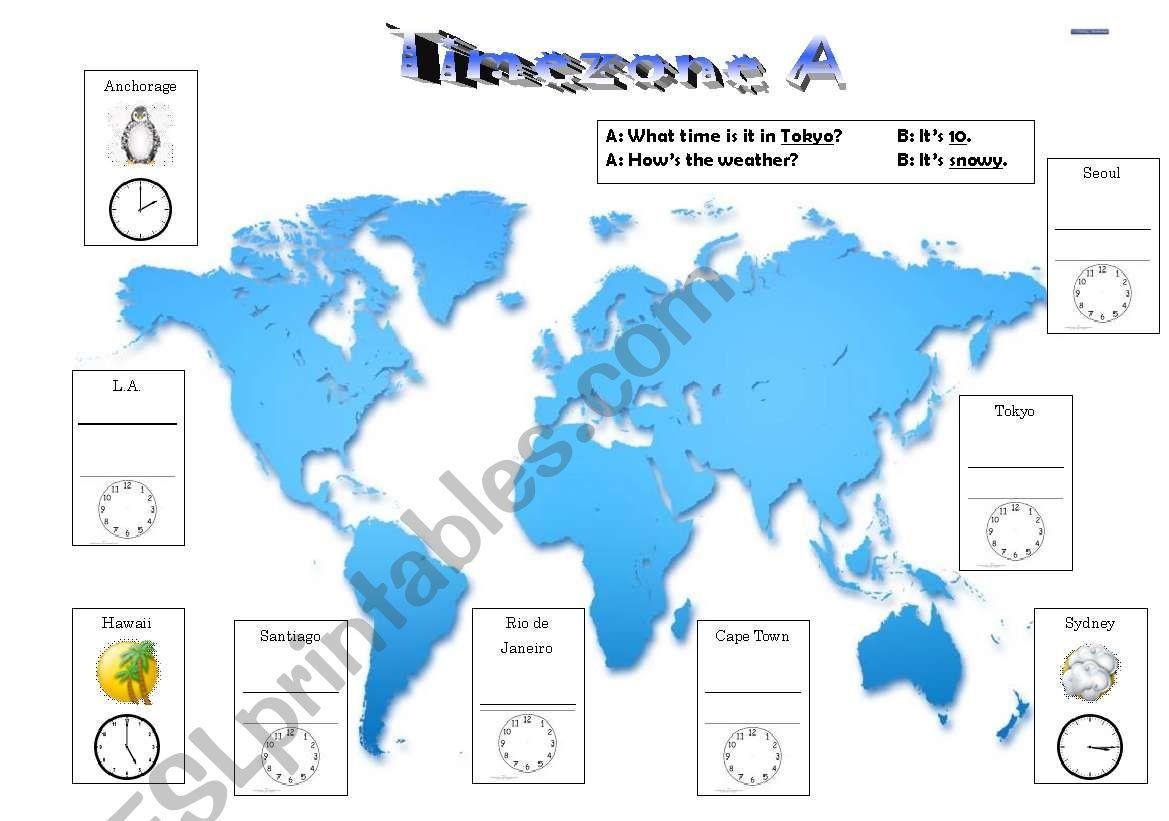Timezone A