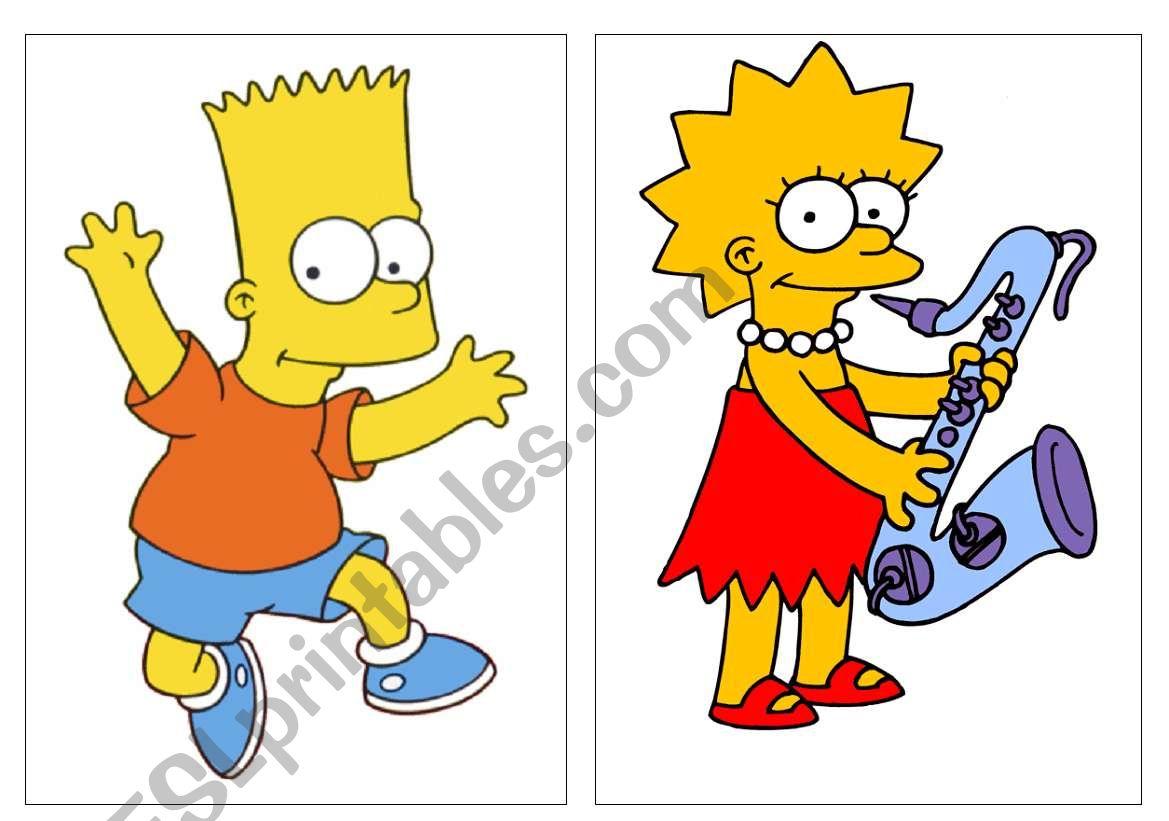 Fc Simpson Family Set1