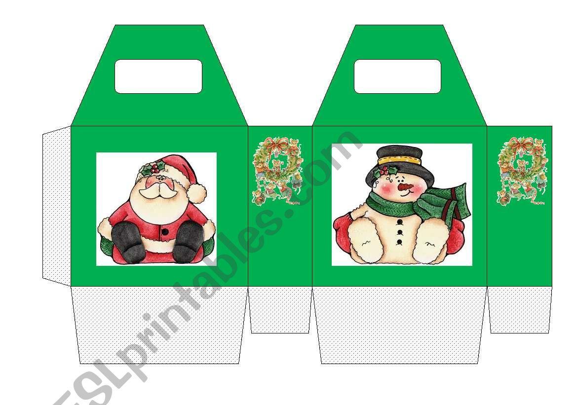 Christmas Box Game