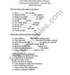 English worksheets: worksheet on preposition [ 1169 x 821 Pixel ]