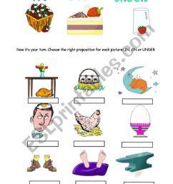Preposition Worksheet K12reader   Printable Worksheets and Activities for  Teachers [ 1169 x 821 Pixel ]