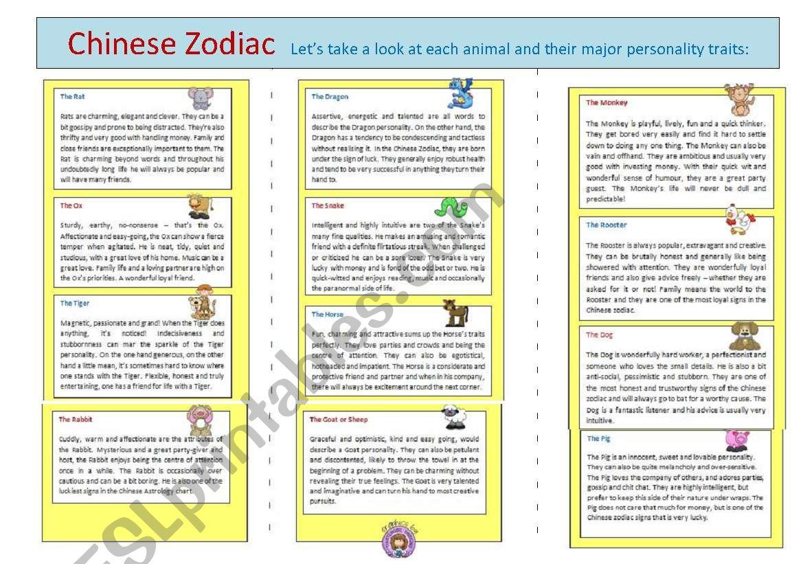 Chinese Zodiac Page 2