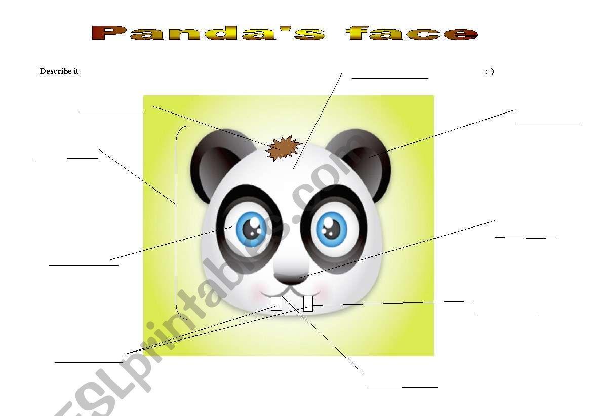 Panda S Face