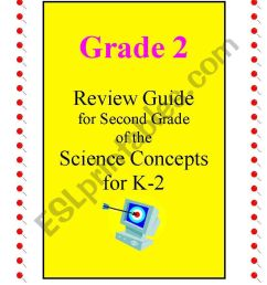 Science review guide ( Annual planning for 2nd grade) Includes 28 pages -  ESL worksheet by joseant8a [ 1169 x 821 Pixel ]