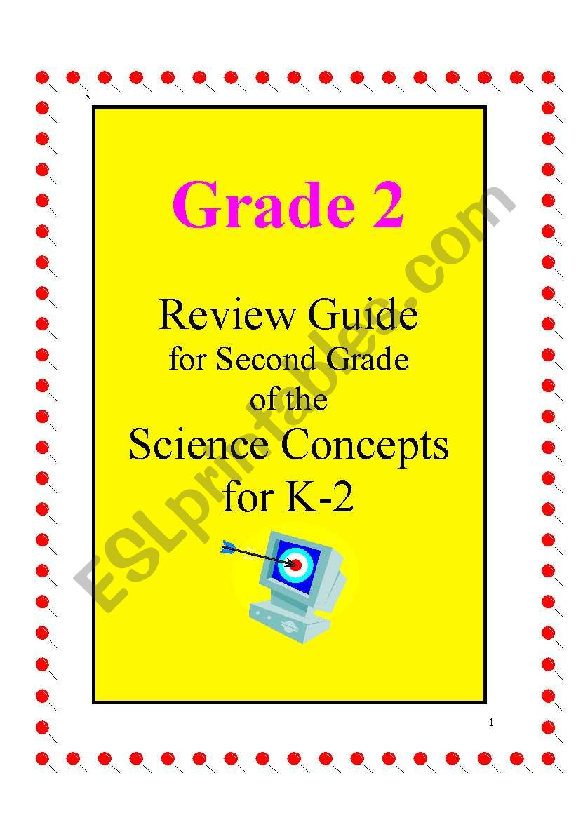 hight resolution of Science review guide ( Annual planning for 2nd grade) Includes 28 pages -  ESL worksheet by joseant8a