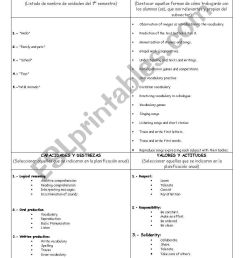 First grade Lesson plan (six months) - ESL worksheet by pifernac [ 1389 x 838 Pixel ]