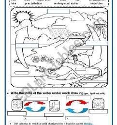 32 Label The Water Cycle Worksheets - Labels Database 2020 [ 1169 x 821 Pixel ]