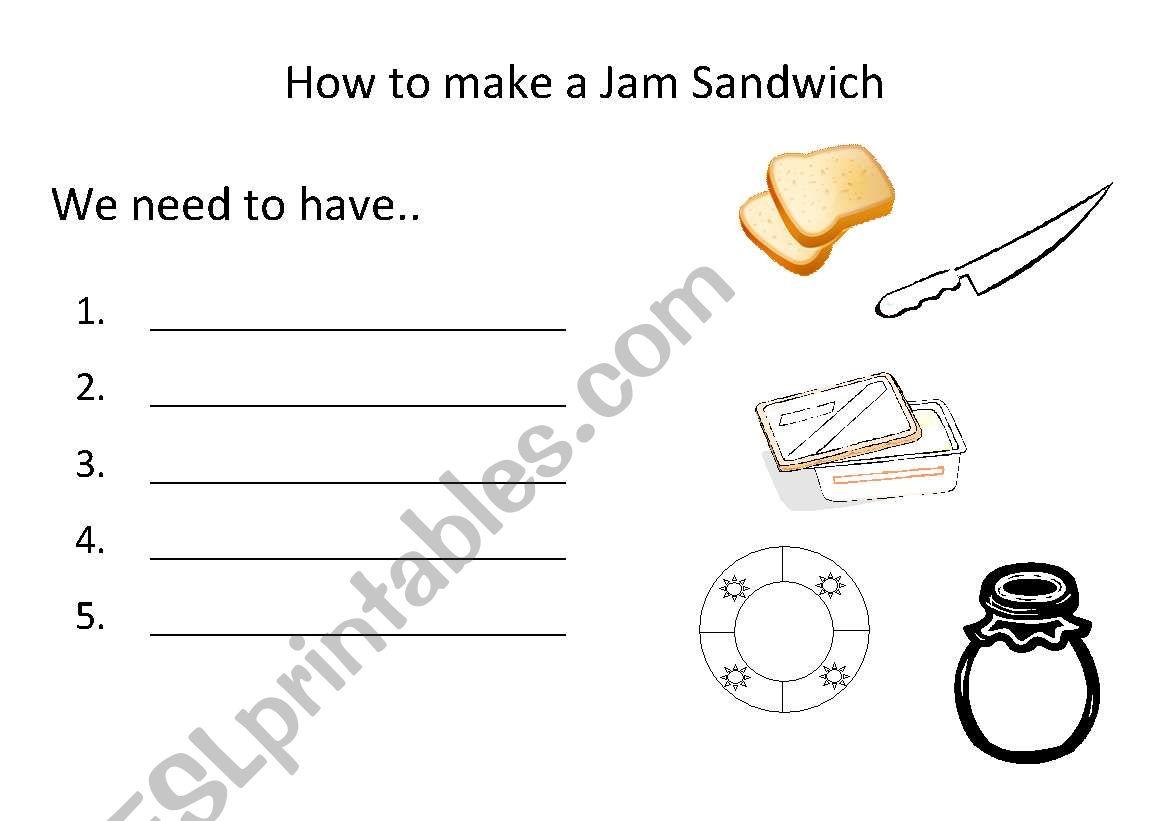 English Worksheets Procedure