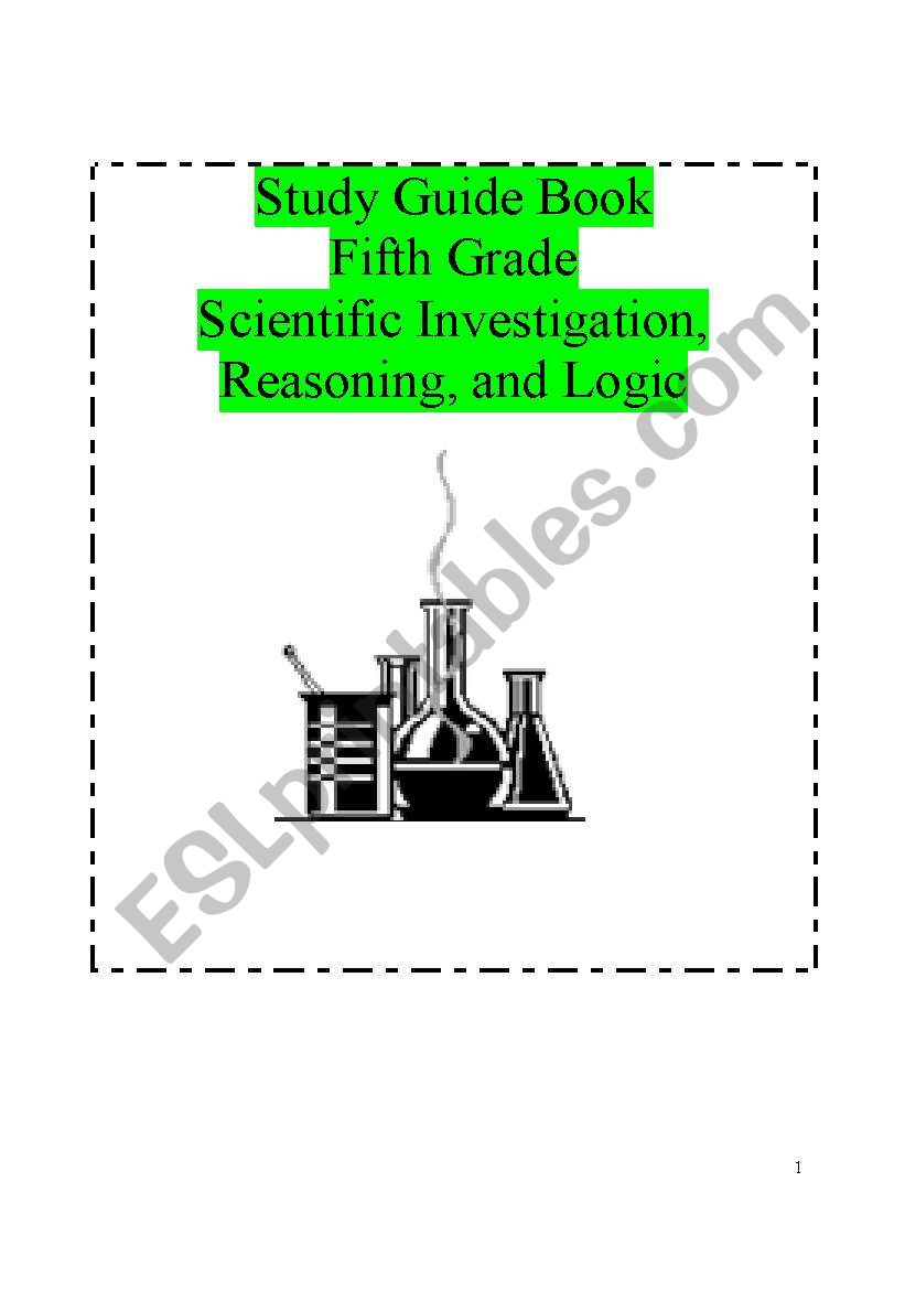 hight resolution of Science Study guide for 5th grade.Scientific investigation