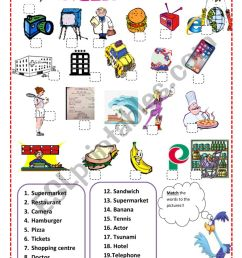 Vocabulary - English Spanish Cognates - ESL worksheet by Pacchy [ 1169 x 821 Pixel ]