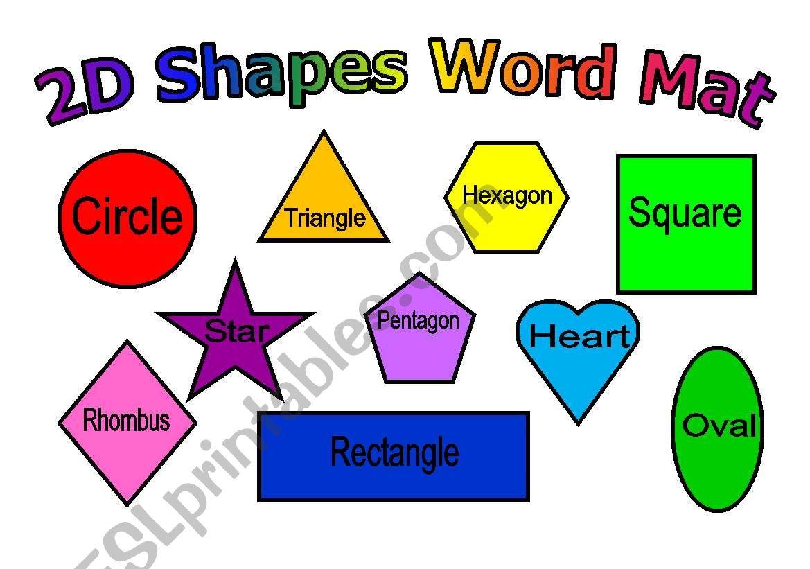 Shapes Mat