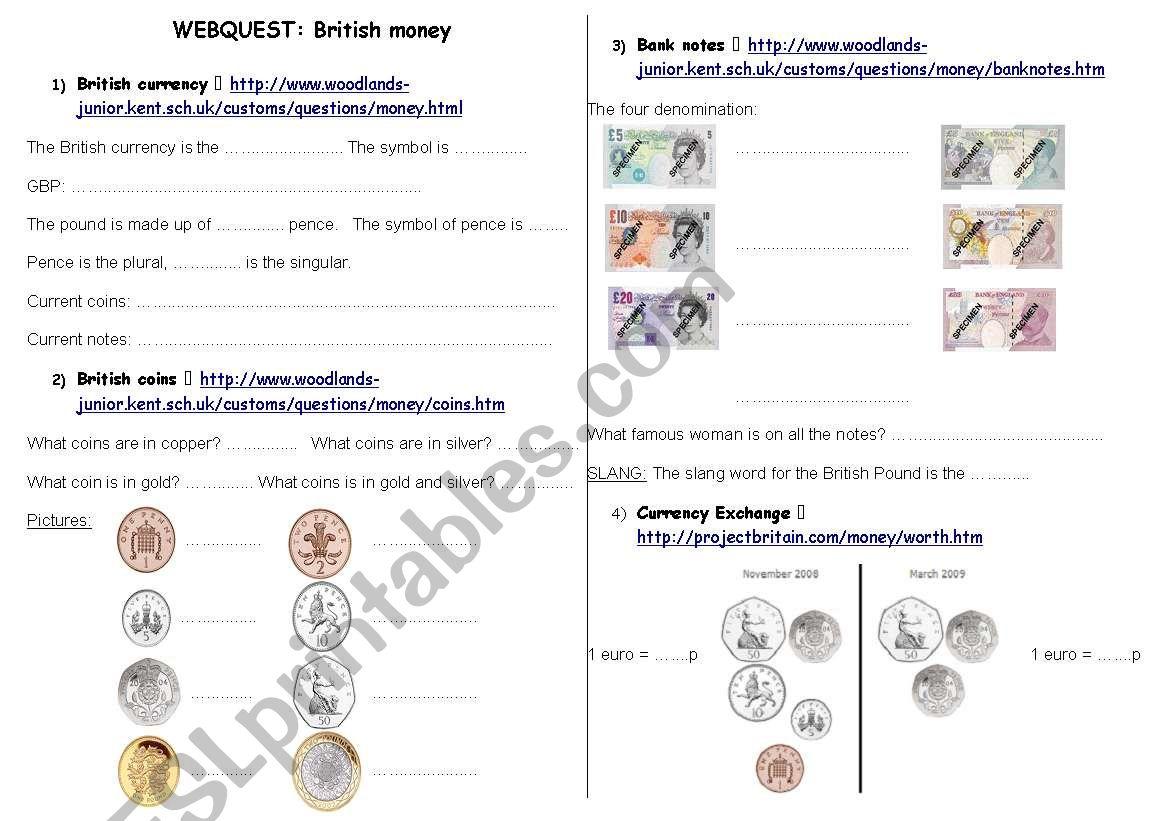 British Money Wenquest