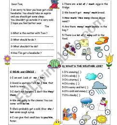 REVISION FOR THE 4TH GRADE - ESL worksheet by duygu2 [ 1169 x 821 Pixel ]