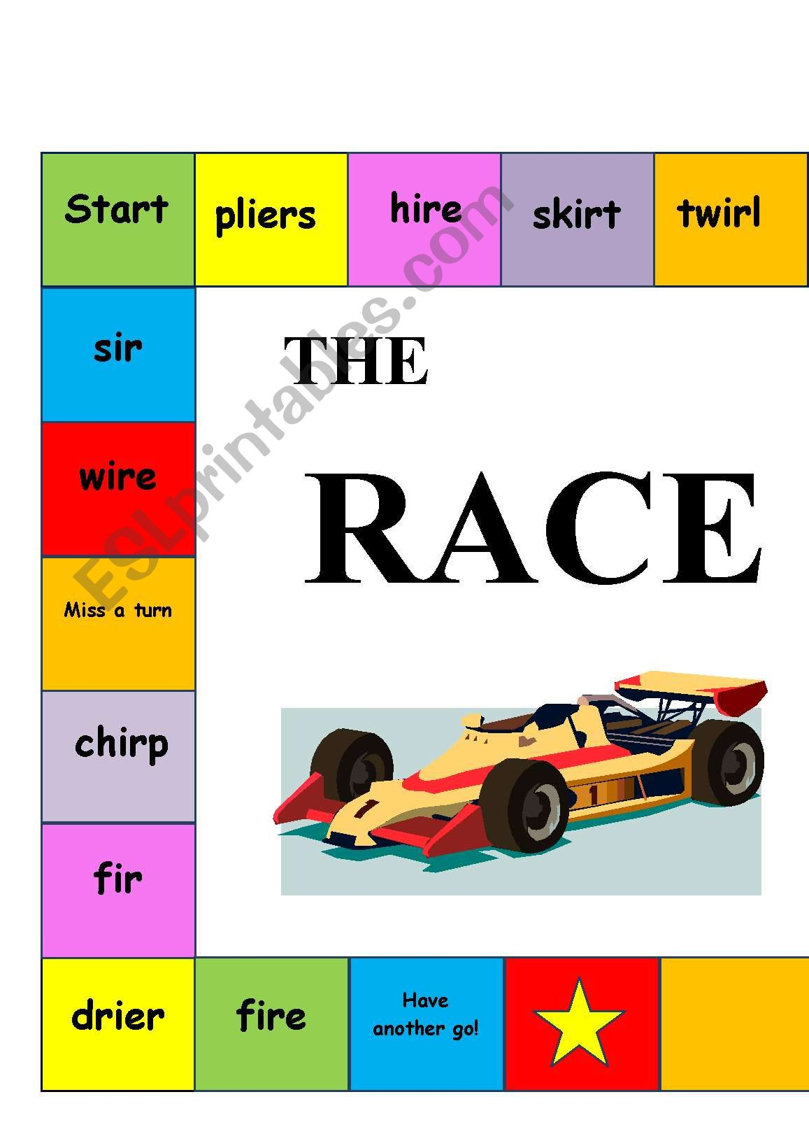 The Racetrack Game