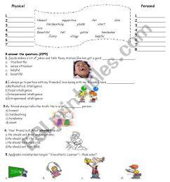 8th grade writing exam - ESL worksheet by dilekche [ 1169 x 821 Pixel ]
