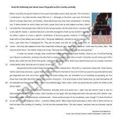 11th Grade Test - My Sister´s Keeper - ESL worksheet by melcoimbra [ 1169 x 821 Pixel ]